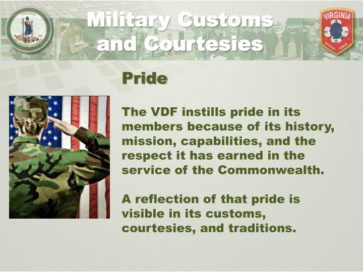 Military Customs