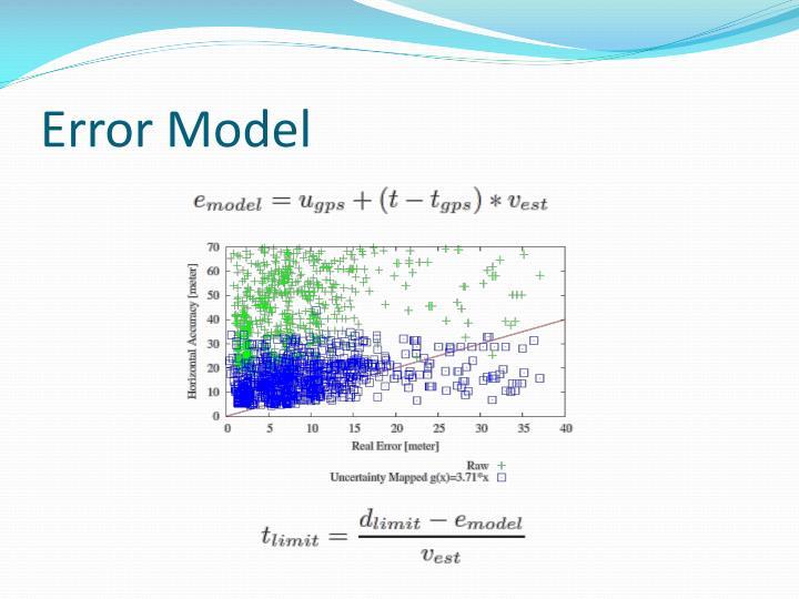 Error Model