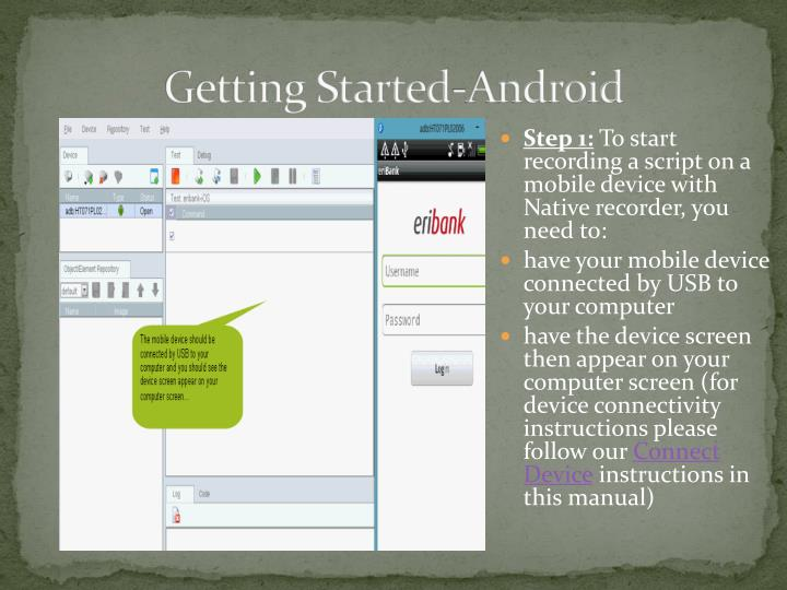 Getting Started-Android