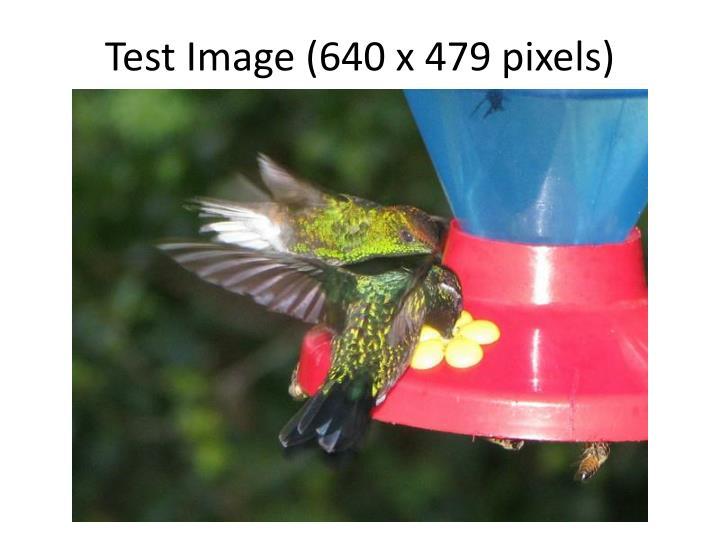 Test Image (640 x 479 pixels)