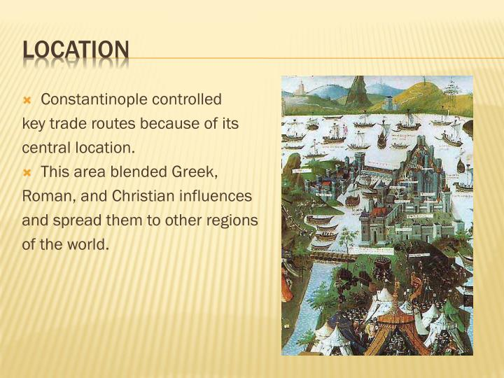 Constantinople controlled
