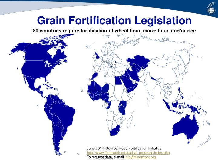 Grain Fortification Legislation