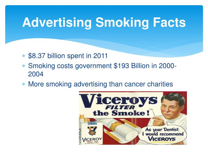 Advertising Smoking Facts