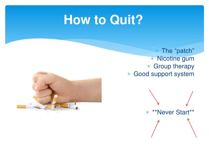 How to Quit?