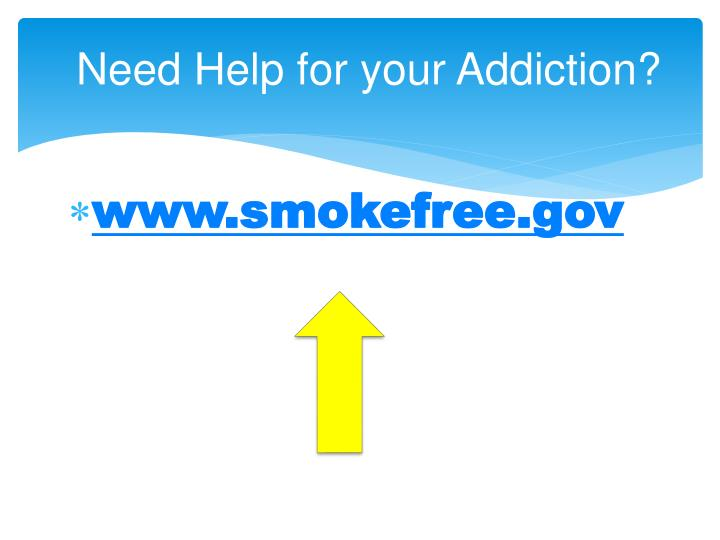 Need Help for your Addiction?