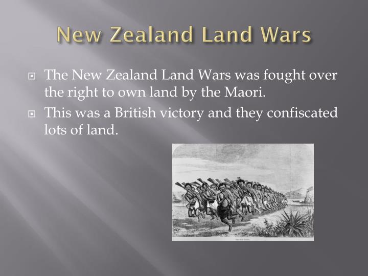 New Zealand Land Wars