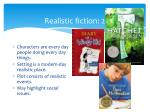 realistic fiction 2