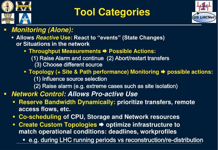 Tool Categories