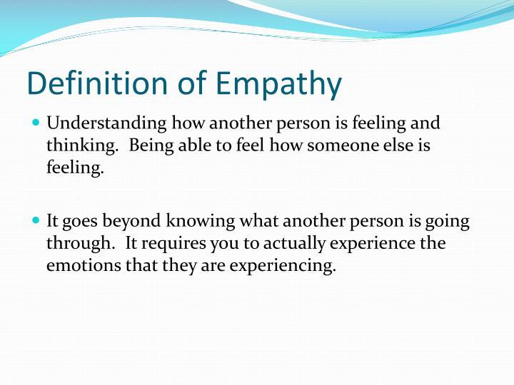 Ppt Empathy Powerpoint Presentation Id 2806990