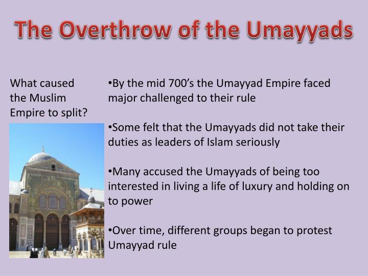 The Overthrow of the Umayyads