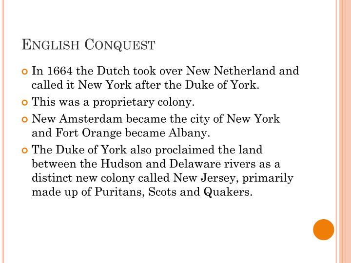 English Conquest