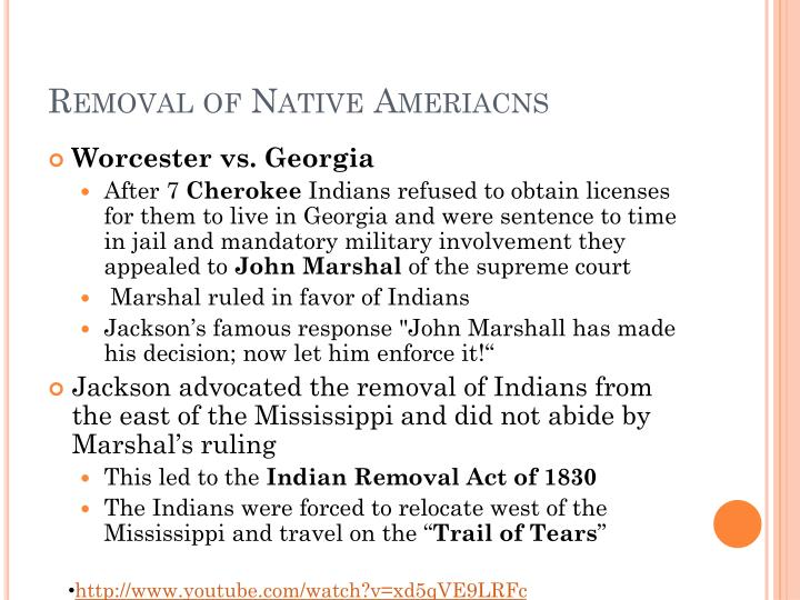 Removal of Native