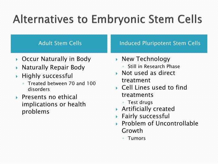 embryonic stem cells research essay If embryonic stem cell research is legalized today, more than one hundred million americans will directly benefit from various stem cell therapies.