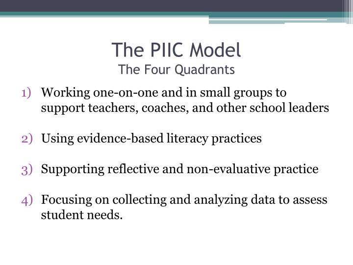 The PIIC Model