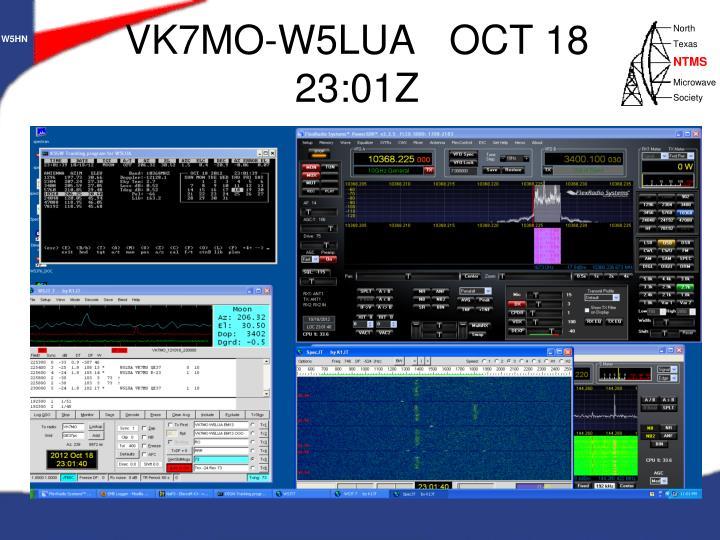 VK7MO-W5LUA   OCT 18  23:01Z