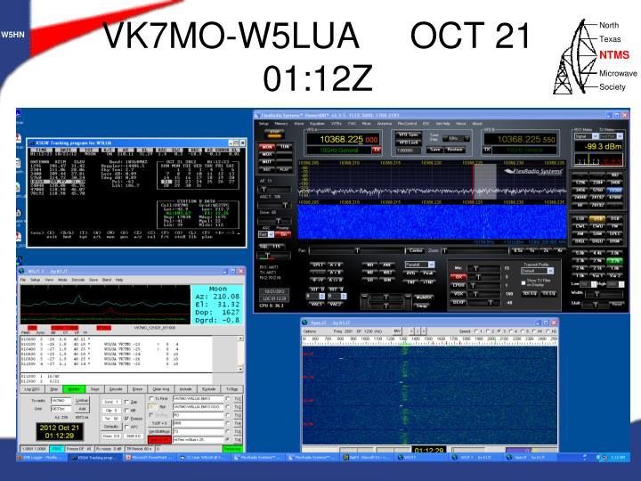 VK7MO-W5LUA     OCT 21  01:12Z