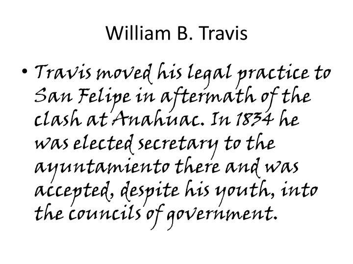 William B. Travis