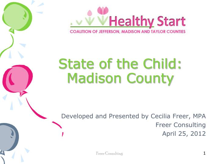 State of the child madison county