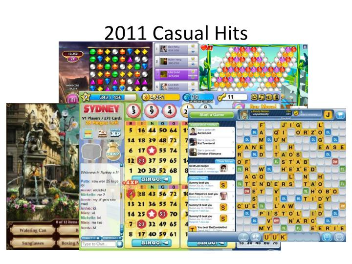 2011 Casual Hits
