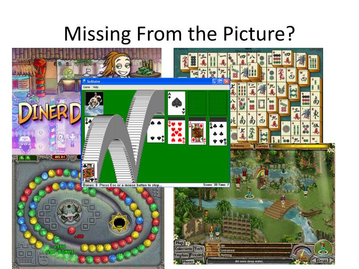 Missing From the Picture?