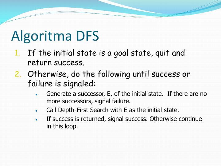 Algoritma DFS