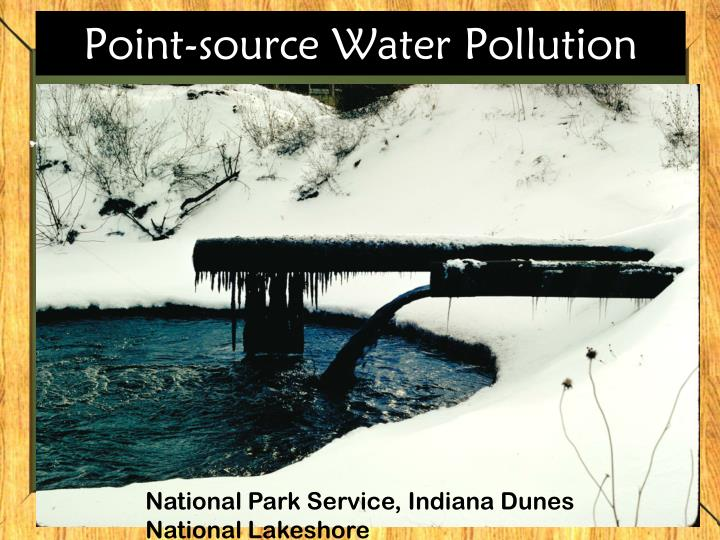 Point-source Water Pollution