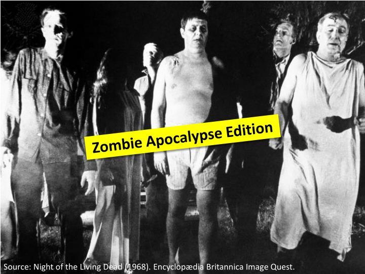Zombie Apocalypse Edition