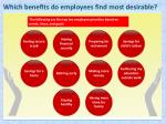 which benefits do employees find most desirable