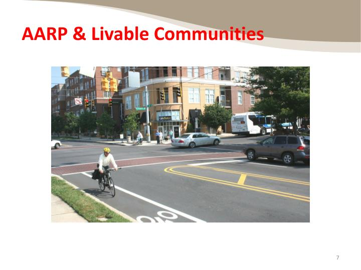 AARP & Livable Communities