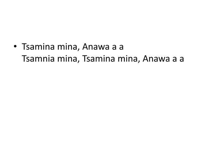 Tsamina