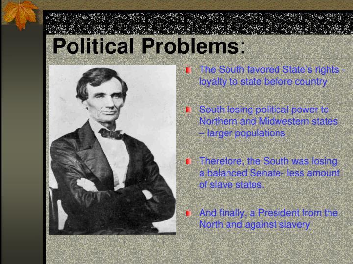 Political Problems