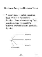 decision analysis decision trees2