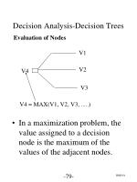 decision analysis decision trees6