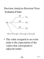 decision analysis decision trees7