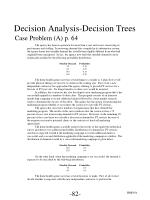 decision analysis decision trees9