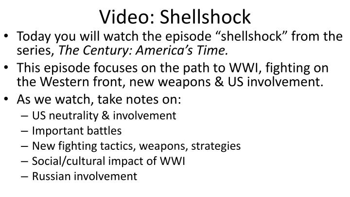 Video: Shellshock