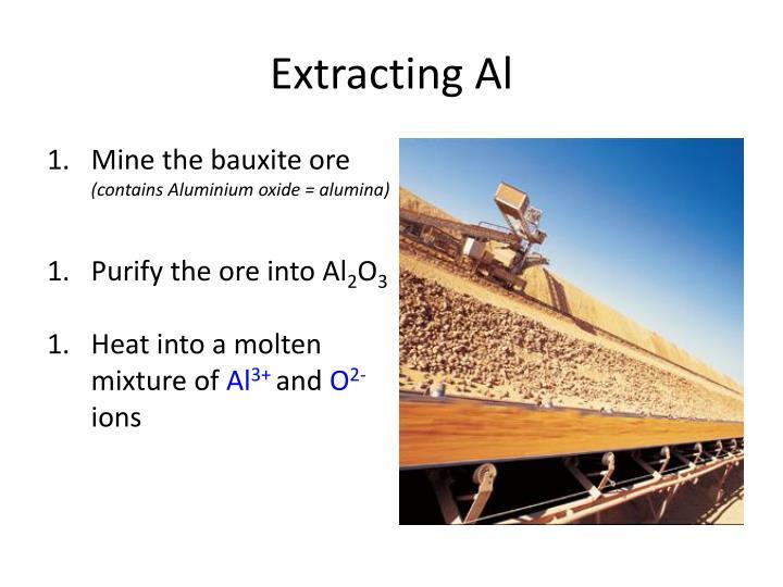 Extracting