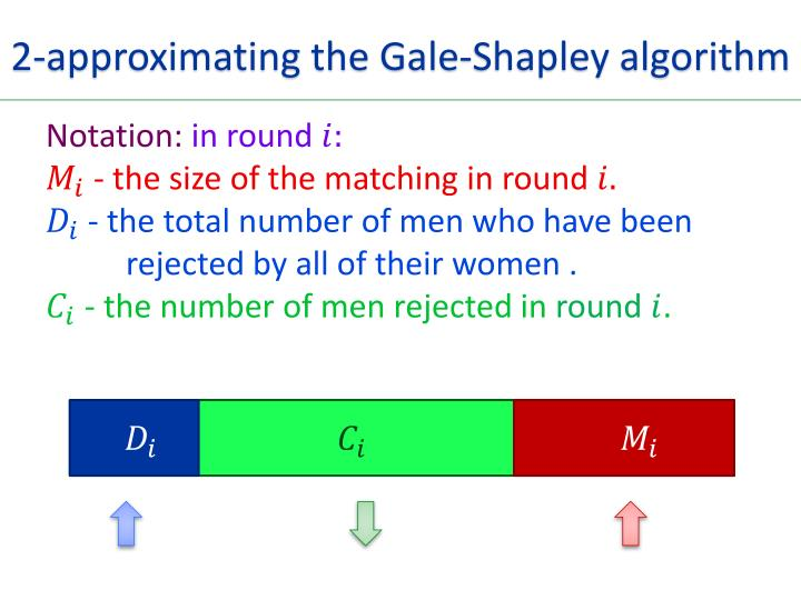 2-approximating the Gale-Shapley algorithm