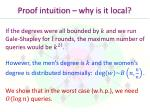proof intuition why is it local1