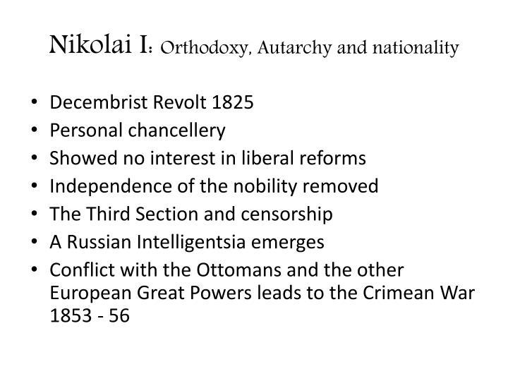 Nikolai I: