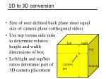 2d to 3d conversion1