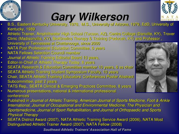 Gary Wilkerson
