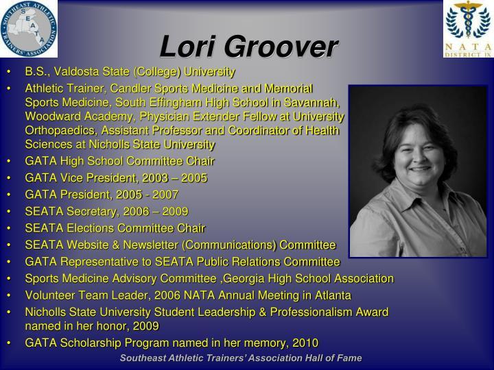Lori Groover