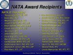 nata award recipients2