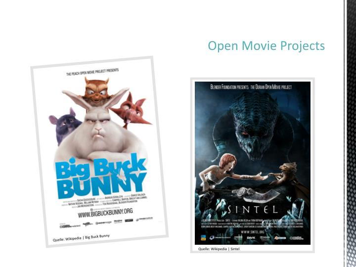 Open Movie Projects
