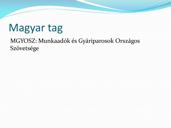 Magyar tag