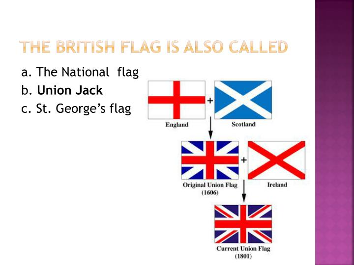 The British flag is also called