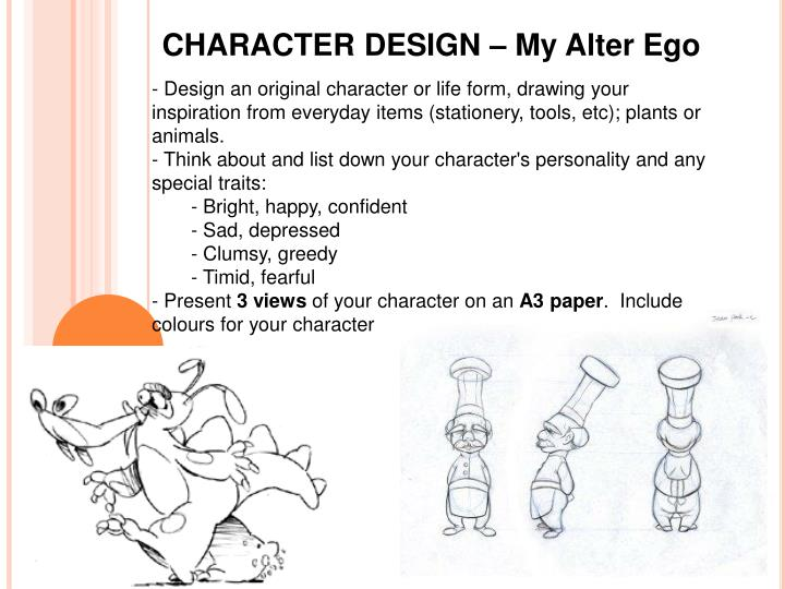 CHARACTER DESIGN – My Alter Ego