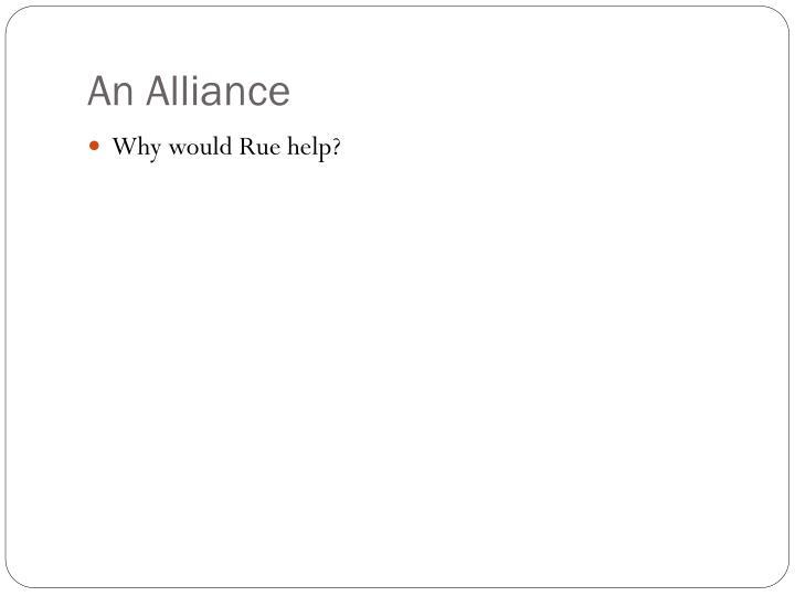 An Alliance