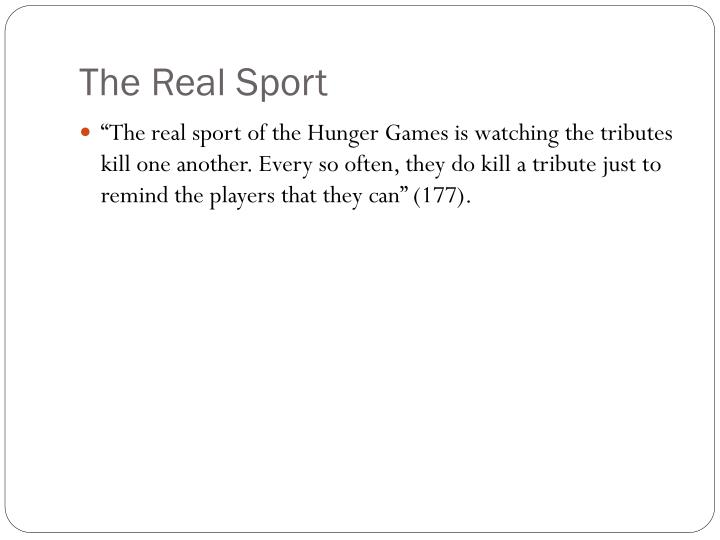 The Real Sport